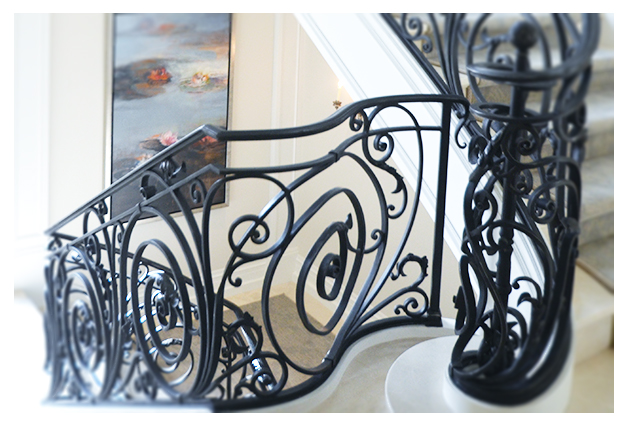 Custom Wrought Iron Railings
