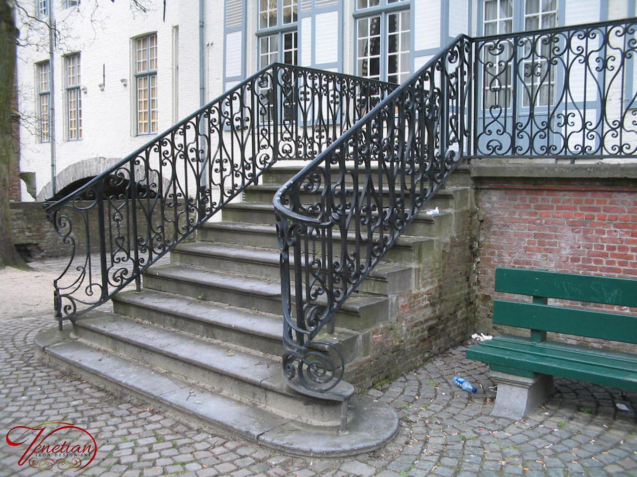 Wrought Iron Railings [exterior] - Venetian Iron Designs Inc