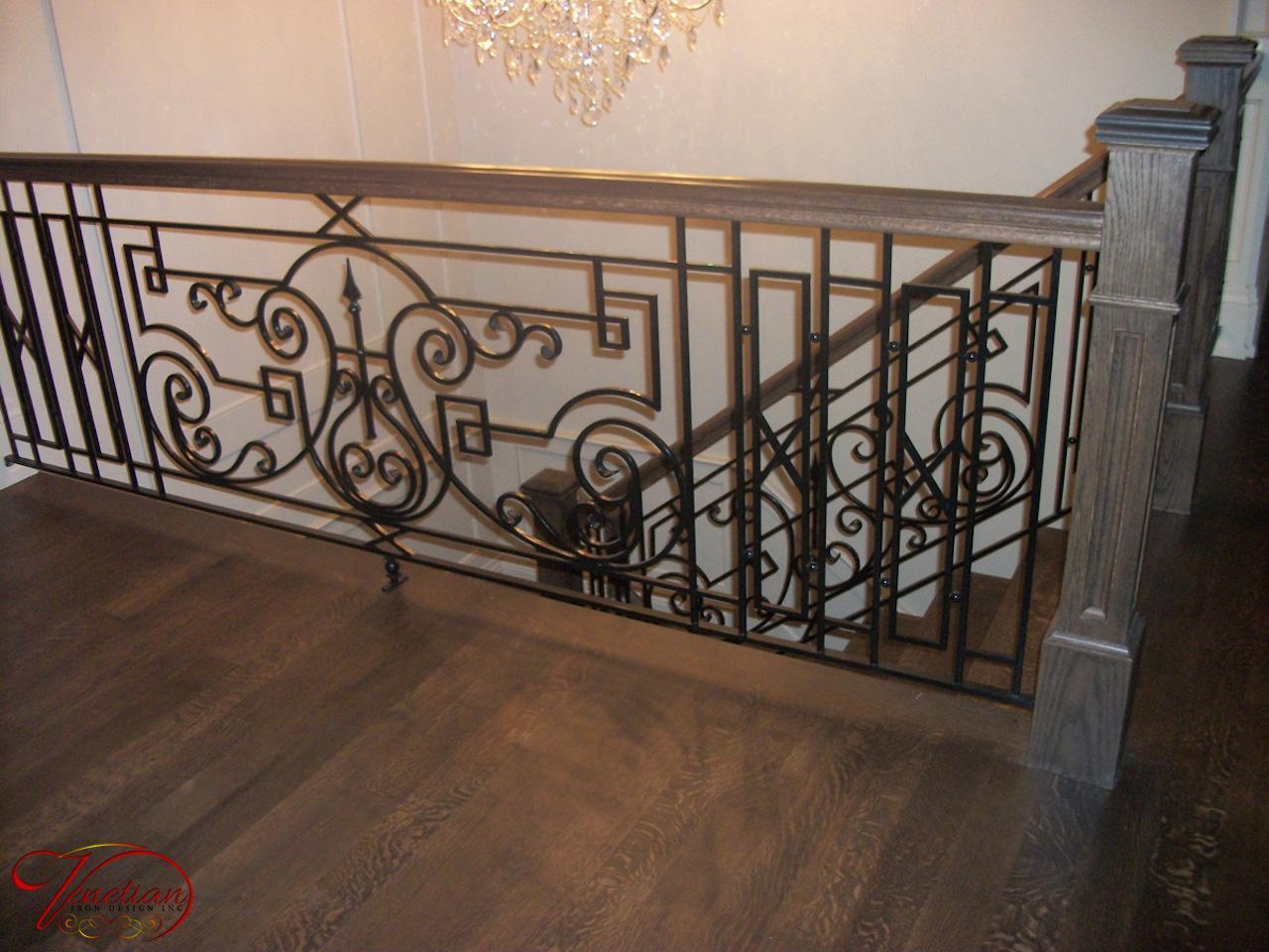 Wrought Iron Railings Interior Venetian Iron Designs Inc